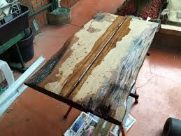 diy hardwood coffee table made out of recycled wood part 3