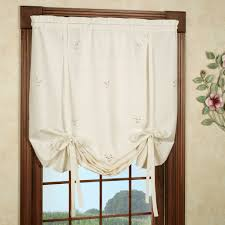 Tie Up Curtains Forget Me Not Tie Up Shade