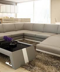 Modern Bonded Leather Sectional Sofa Divani Casa 5100 Modern Bonded Leather Sectional Sofa Buy