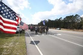 Flag Corps Marine Raiders March 770 Miles In Remembrance U003e Marine Corps