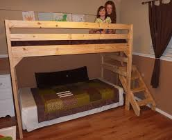 Loft Beds Plans Free Lowes by Ana White Loft Bed With Staircase Diy Projects