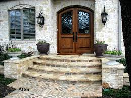 Front Entry Stairs Design Ideas Best 25 Front Steps Ideas On Pinterest Front Steps Front