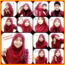 tutorial hijab paris zaskia tutorial hijab segi empat headband ala zaskia adya mecca ada banyak