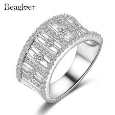 aliexpress buy beagloer new arrival ring gold aliexpress buy beagloer exquisite hollow ring gold silver