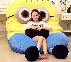 Sofa Bed Amazon by Com Funny Despicable Me Minions Sleeping Bag Sofa Bed Twin Bed