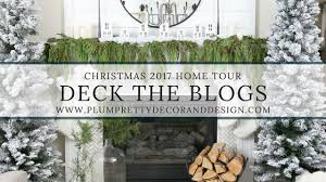christmas decor in the home plum pretty decor design co deck the blogs my 2017 christmas home