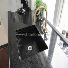 black countertop with black sink g684 black countertop front water stopper manufacturers g684 black