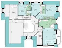 plan de maison a etage 5 chambres plan maison 5 chambres avec etage idées décoration intérieure