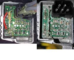 Bmw X5 6031 - failed blower resistor final stage resistor not really dead