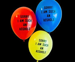 i m sorry balloons for delivery sorry i am such an a balloon package dudeiwantthat