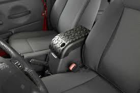 jeep wrangler console rugged ridge 13104 60 all terrain center console cover in black