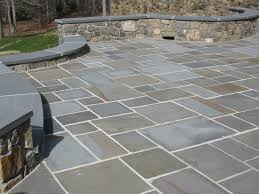 Patio Pavers Cost Calculator by Flagstone Patio Cost Vs Stamped Concrete