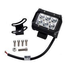 Light Bar For Motorcycle Aliexpress Com Buy 10pcs 4 Inch 18w Led Work Light Bar For
