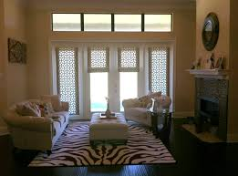 roller blinds french doors door decoration