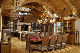log home interior photos rustic kitchens design ideas tips inspiration