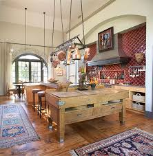 antique french butcher table rustic kitchen why we love it because of its surprising mix of