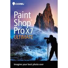 corel paintshop pro x7 ultimate dvd pspx7ulenmbam b u0026h photo