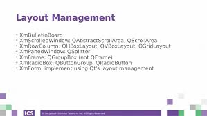 qsplitter layout porting motif applications to qt webinar