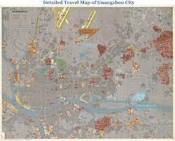 Guangzhou China Map by Guangzhou Maps Detailed China Guangzhou Attraction