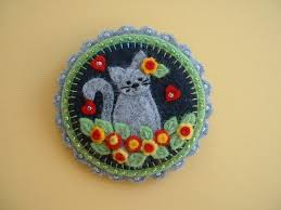 308 best wool applique brooches images on brooches