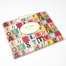 cavallini file folders alphabet file folder set by cavallini co