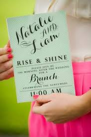 brunch invites post wedding brunch invitations marialonghi