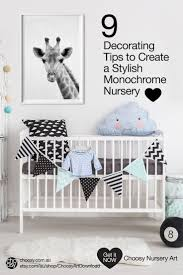 Boy Nursery Wall Decals Best 25 Monochrome Nursery Ideas On Pinterest Baby Room