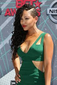 half shaved with braids meagan good hair stylebistro