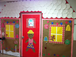 Pinterest Classroom Decor by Gingerbread House Classroom Door Classroom Door Decor