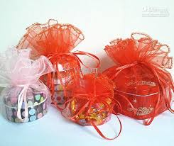 organza favor bags top large size 44cm large wedding favor organza gift bags