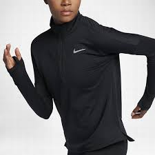nike 855521 010 women u0027s long sleeve running top nike therma sphere