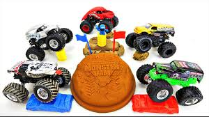 monster trucks videos in mud wheels monster trucks from monster jam with grave digger