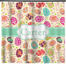 personalized easter eggs easter eggs shower curtain personalized potty concepts