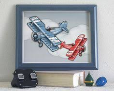 Airplane Kids Room by Airplane Decor Airplane Nursery Alphabet Letter Yellow Red Blue