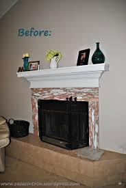 how to tile fireplace makeover u2013 phase one casa cintron