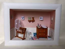 cadre photo chambre bébé cadre vitrine miniature chambre bébé kiline