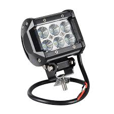 Light Bar For Motorcycle 4inch 18w Led Square Light Bar For Motorcycle Tractor Boat Off