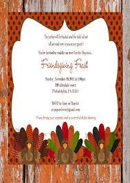 thanksgiving invitation wording for potluck best images