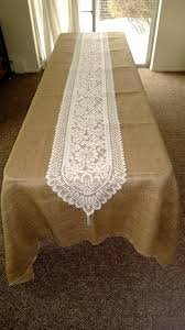 lace and burlap table runners lace table runners ideas u2013 home