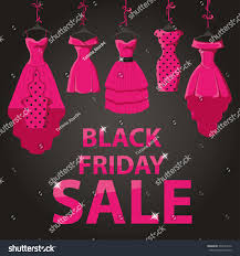 black friday dress sale black friday big salepink party dresses stock vector 334743170