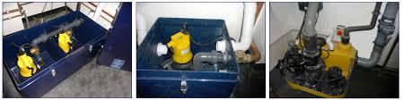 Waste Pumps Basement - waste water and sewage pumping case study pump technology