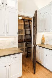 kitchen furniture pantry reclaimed barn wood pantry door with ladder cottage kitchen