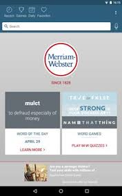 meriam webster dictionary apk dictionary merriam webster apk free books reference