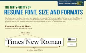 Best Font Resume by Cool Resume Fonts Resume For Your Job Application