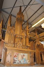 Gothic Furniture For Sale by Antique Church Altars Fluminalis