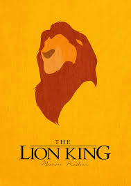 the lion king minimalist poster by manoulol deviantart com on