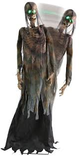 animated hanging zombie halloween prop mad about horror 1000