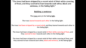 Examples Of Topic Sentences For Essays Redrafting Writing Reflecting English