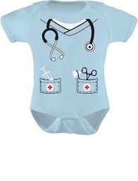 Toddler Boy Halloween T Shirts Amazon Com Infant Doctor Nurse Physician Halloween Easy Costume