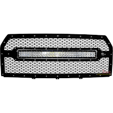 Rigid 30 Led Light Bar by Rigid Industries Grille With 30